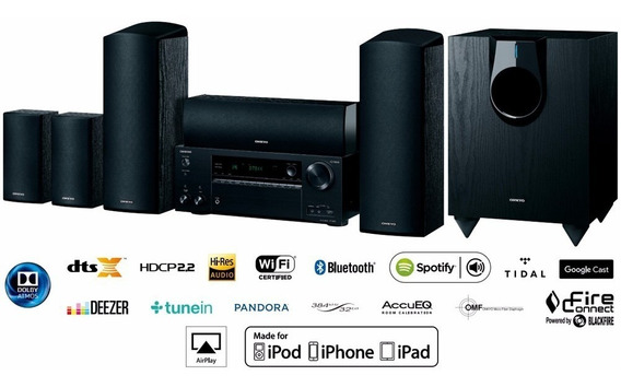 Home Theater Onkyo Hts7800 5.1.2 Dolby Atmos Rev Oficial