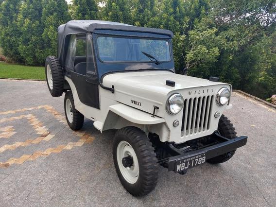 Jeep Willys 1953 Cj3b Cara De Cavalo
