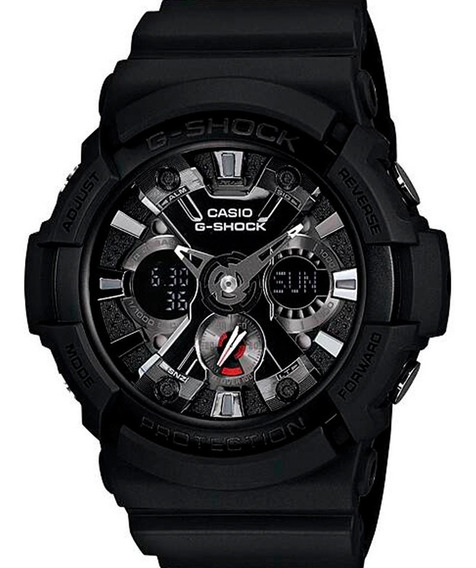 Reloj Casio G-shock Ga-201-1a Original Time Square