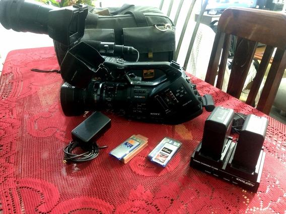 Vendo Ou Troco Sony Profissional Pmw Ex3 Xdcam Fullhd