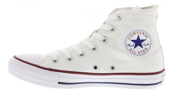 Tênis Cano Alto Converse All Star Chuck Branco - Original
