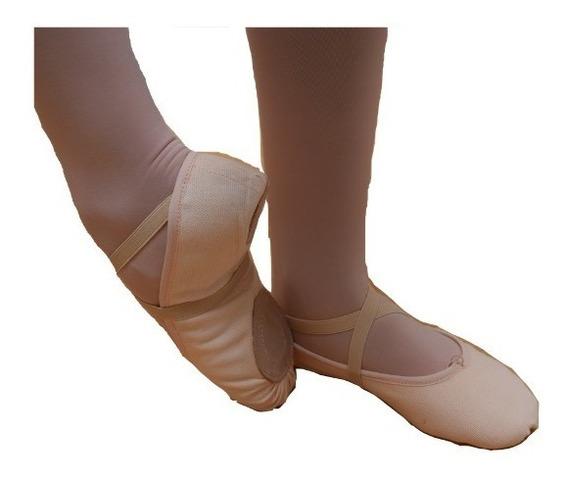 Zapatilla Para Ballet Y Jazz De Lona. Envio Gratis!!