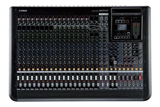 Mesa De Som Yamaha 24 Canais Mgp24x Semidigital Nf