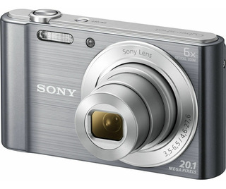 Sony W810 Cámara Digital Optical Zoom Black