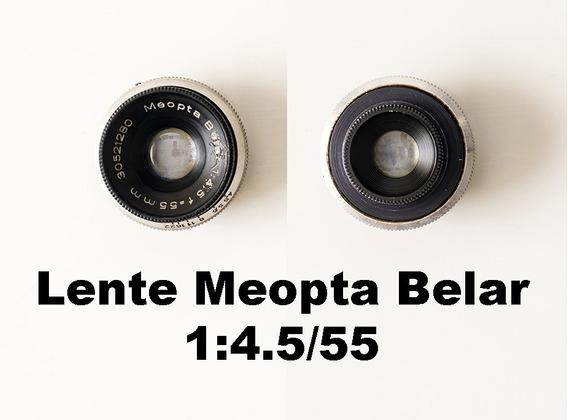 Lente Meopta Belar 1:4.5/55 Para Ampliador De Fotografia