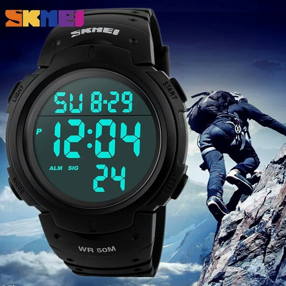 Relógio Masculino Esportivo Skmei Digital Prova D