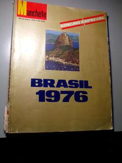 Revista Manchete Brasil 1976 Em Bom Estado!