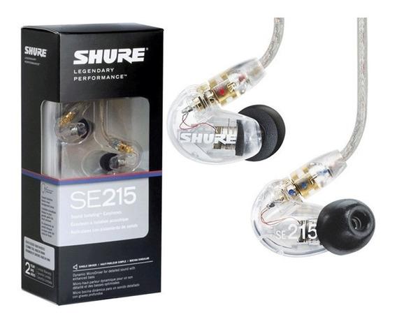 Fone In Ear Shure Se215 | Original + Nf | 2 Anos Garantia