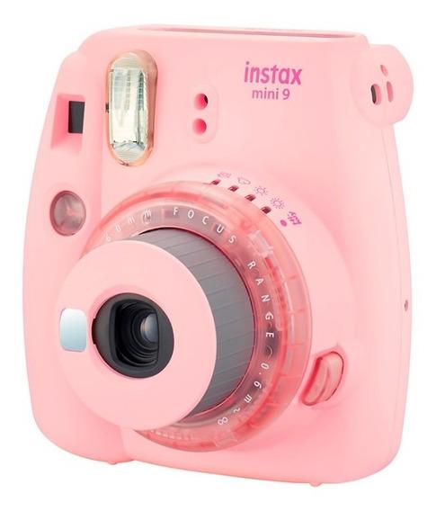 Câmera Instantânea Fujifilm Instax Mini 9 Rosa Claro Fujifil