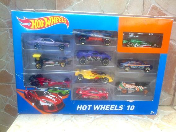 Hotwheels Empaque De 10