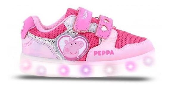 Zapatillas Footy De Peppa Pig Con Luces Ppx955 Cfu