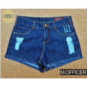 Shorts Jeans M. Officer Dark Blue