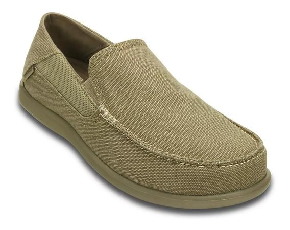 Zapatos Hombre Beige Crocs Santa Cruz Luxe 2