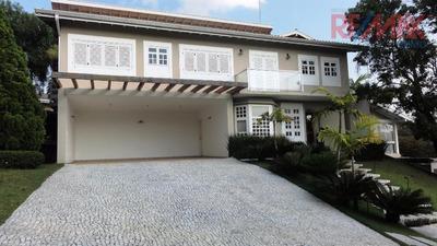 Casa Residencial À Venda, Condomínio Chácara Flora, Valinhos - Ca4175. - Ca4175