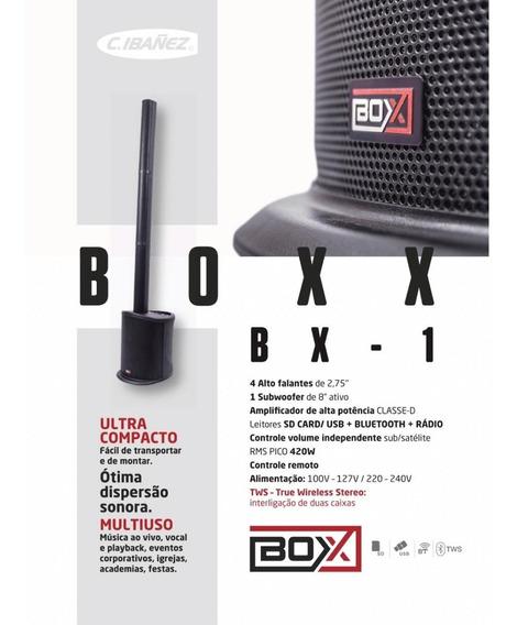 Sistema De Som Ativo Boxx Bx-01
