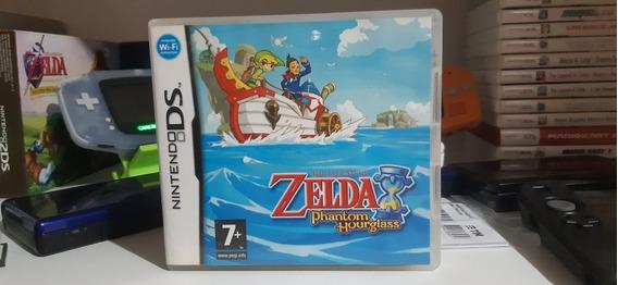 Zelda Phantom Hourglass Nintendo Ds. Original.