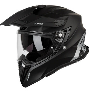 Casco De Moto Airoh Commader Color Negro Mate