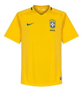 Jersey Original Nike Selección Brasil Local Copa America 016