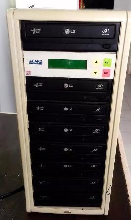 Torre Duplicadora De 1.a 5 Dvd Usada Acard (sata) 30 Norte