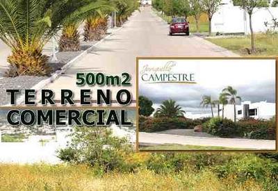 Terreno Comercial Mixto De 500 M2 En Campestre Juriquilla !!