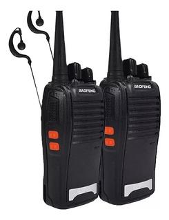 Radio Comunicador Walk Talk Baofeng Bf 777s + Fone De Ouvido