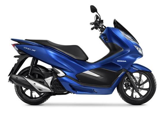 Honda Pcx 150 Cbs - Azul-escuro Perolizado 0km Sem Entrada