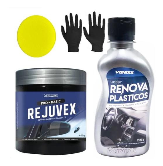 Renova Plástico 200g E Rejuvex 400g Vonixx