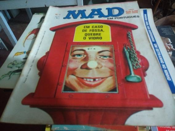 Lote Revista Mad 1 Editora Vecchi