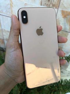 iPhone Xs Max Gold 64 Gb Semi Novo!