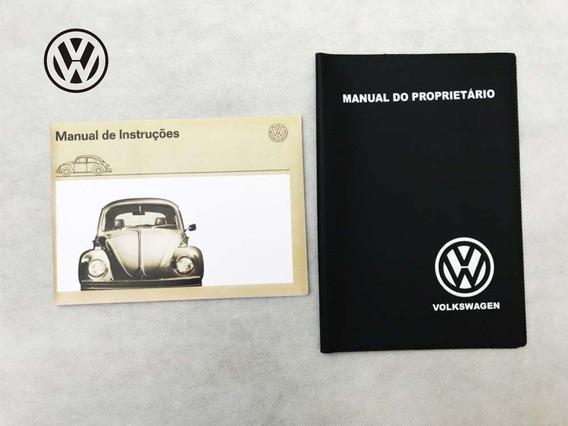 Manual Do Proprietario Fusca Alemão 1200 1300 + Capa