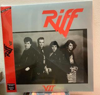 Riff Vll 7 Vinilo Ed. 2019 Limitada Firmada Por Vitico