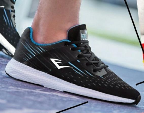 Tenis Everlast Originales Negros Talla 25.5 A La 29.5