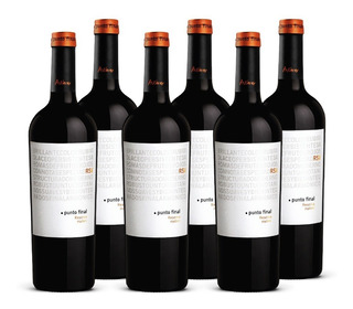 Vino Punto Final Malbec Reserva 6 Botellas