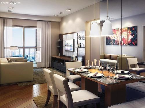 Imagem 1 de 7 de Apartamento Para Venda Em Santo André, Vila Bastos, 2 Suítes, 3 Banheiros, 2 Vagas - Francoinn_2-1181795
