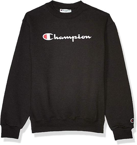 Champion Big Graphic Color Negro
