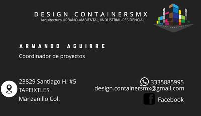 Diseño En Contenedores Maritimos