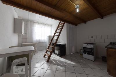 Apartamento Térreo Mobiliado Com 1 Dormitório - Id: 892920017 - 220017