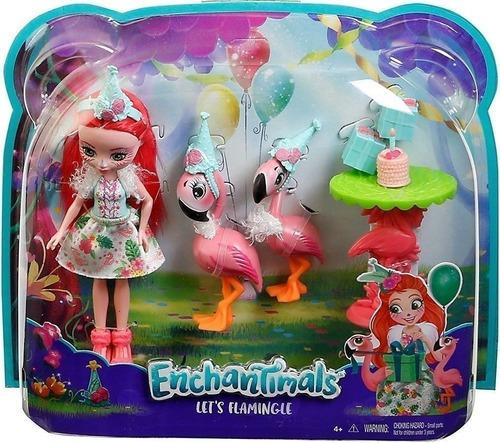 Enchantimals Fiesta De Flamingos Original