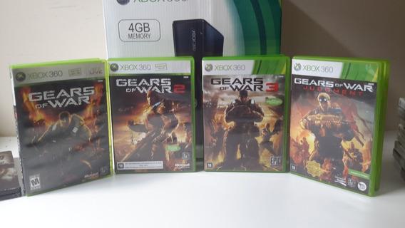 Coleção Gears Of War Xbox 360