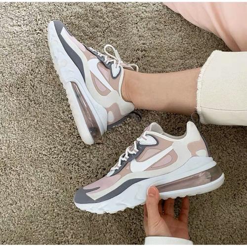 Tierra pequeño conjunto  Zapatillas Nike Air Max 270 React Ultimas Mujer Originales | Mercado Libre