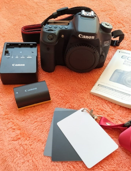 Câmera Canon 70d ( Corpo) Semi Nova