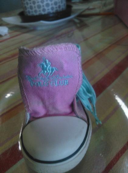 Zapatos De Niña Originales Polo Club Usados