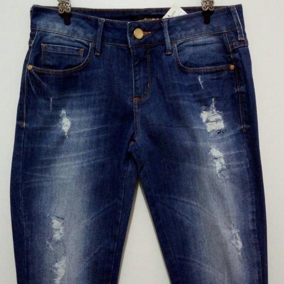Calça Jeans Feminina Sommer Destroyed Instagram Promoção