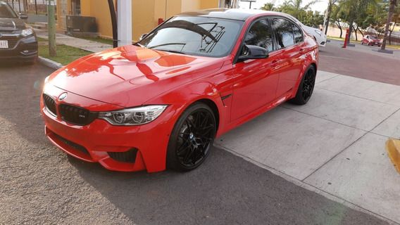 Bmw 3.0 M3 Sedán At 2017 Rojo
