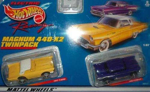 Imagen 1 de 1 de Carro Antiguo De Juguete, Chevy Magnum Amarillo, Marca Pyle