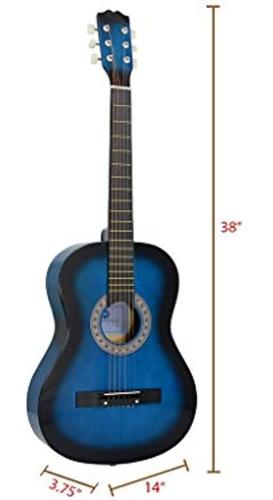 Guitarra Acustica Star De 38 Pulgadas Con Cuerdas De Sinton