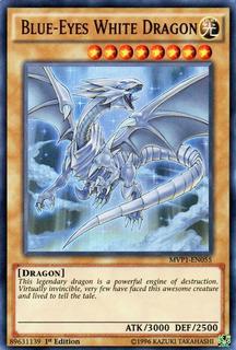 Blue-eyes White Dragon - Mvp1-en055 - Ultra Rare