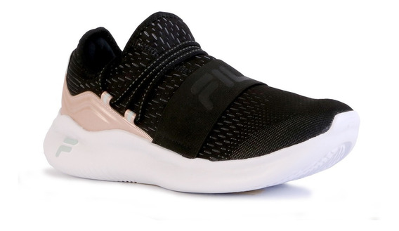 Zapatillas Fila Trend Wns Training Negro/rosa Moda Casual