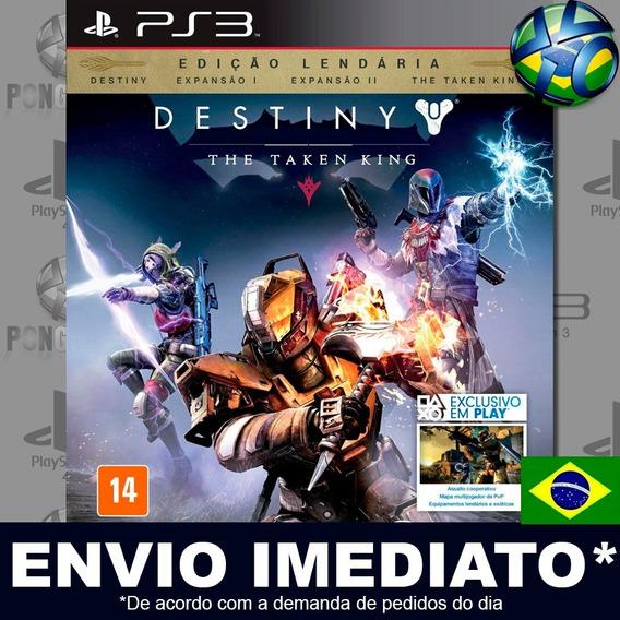 Destiny The Taken King Legendary Edition Ps3 Psn Dublado Br