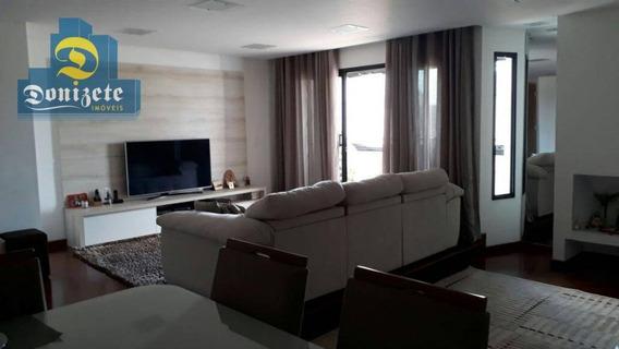Apartamento Com 4 Dormitórios À Venda, 188 M² Por R$ 780.000,00 - Vila Bastos - Santo André/sp - Ap5144